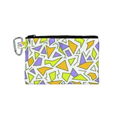 Retro Shapes 04 Canvas Cosmetic Bag (small)