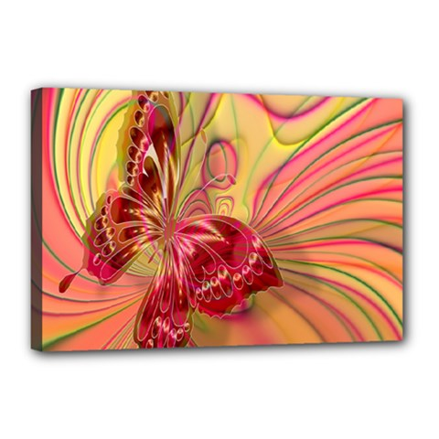 Arrangement Butterfly Aesthetics Canvas 18  X 12