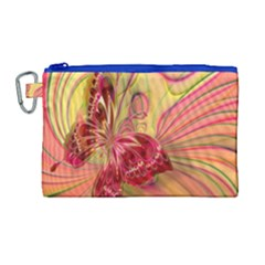 Arrangement Butterfly Aesthetics Canvas Cosmetic Bag (large)
