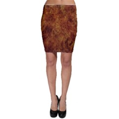Abstract Flames Fire Hot Bodycon Skirt by Celenk
