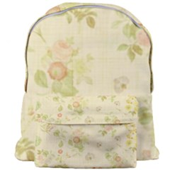 Floral Wallpaper Flowers Vintage Giant Full Print Backpack