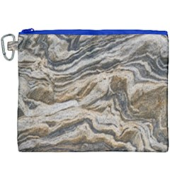 Texture Marble Abstract Pattern Canvas Cosmetic Bag (xxxl) by Celenk