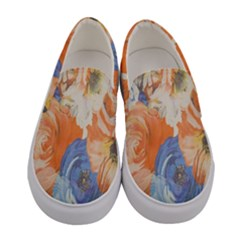 Texture Fabric Textile Detail Women s Canvas Slip Ons