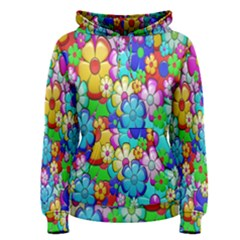 Flowers Ornament Decoration Women s Pullover Hoodie