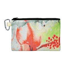 Fabric Texture Softness Textile Canvas Cosmetic Bag (medium) by Celenk