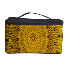 Pattern Petals Pipes Plants Cosmetic Storage Case by Celenk