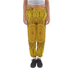 Pattern Petals Pipes Plants Women s Jogger Sweatpants by Celenk