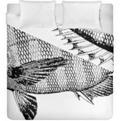 Animal Fish Ocean Sea Duvet Cover Double Side (king Size) by Celenk