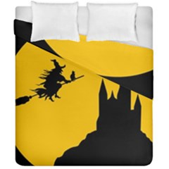 Castle Cat Evil Female Fictional Duvet Cover Double Side (california King Size) by Celenk