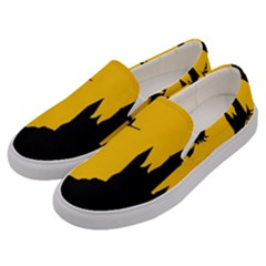 Castle Cat Evil Female Fictional Men s Canvas Slip Ons by Celenk