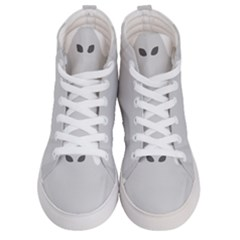 Ghost Halloween Spooky Horror Fear Women s Hi Top Skate Sneakers