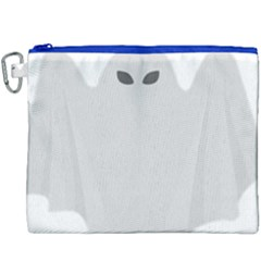 Ghost Halloween Spooky Horror Fear Canvas Cosmetic Bag (xxxl)
