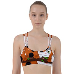 Baby Decoration Cat Dog Stuff Line Them Up Sports Bra by Celenk
