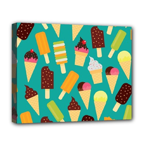 Summer Treats Deluxe Canvas 20  X 16   by allthingseveryday