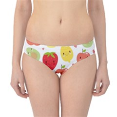 Happy Fruits Pattern Hipster Bikini Bottoms by allthingseveryday