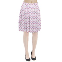 Pixel Hearts Pleated Skirt by jumpercat