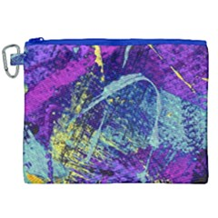 Ink Splash 01 Canvas Cosmetic Bag (xxl) by jumpercat