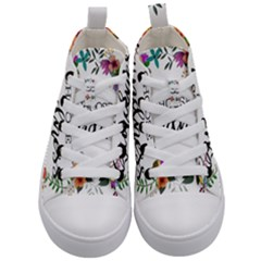 Choose Kidness Kid s Mid-top Canvas Sneakers