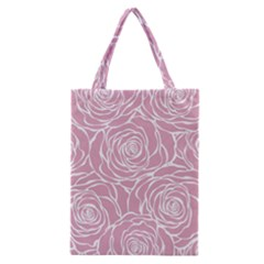 Pink Peonies Classic Tote Bag by 8fugoso