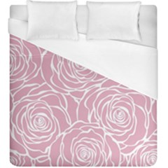 Pink Peonies Duvet Cover (king Size) by 8fugoso