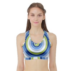 Oracle 01 Sports Bra With Border