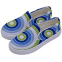 Oracle 01 Kids  Canvas Slip Ons View2