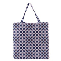 Kaleidoscope Tiles Grocery Tote Bag by jumpercat