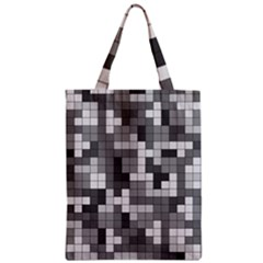 Tetris Camouflage Urban Classic Tote Bag by jumpercat