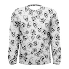 A Lot Of Skulls White Men s Long Sleeve Tee by jumpercat
