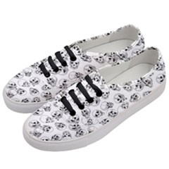 A Lot Of Skulls White Women s Classic Low Top Sneakers by jumpercat