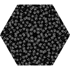 A Lot Of Skulls Black Mini Folding Umbrellas by jumpercat
