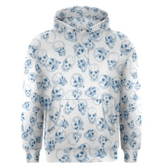 A Lot Of Skulls Blue Men s Pullover Hoodie by jumpercat