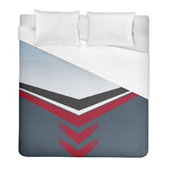 Modern Shapes Duvet Cover (full/ Double Size) by jumpercat