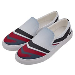Modern Shapes Men s Canvas Slip Ons by jumpercat