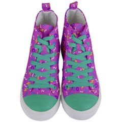 Retro Wave 2 Women s Mid Top Canvas Sneakers