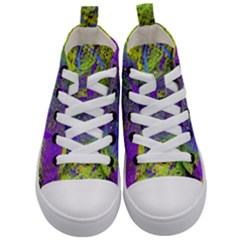 Ink Splash 02 Kid s Mid-top Canvas Sneakers