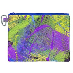 Ink Splash 02 Canvas Cosmetic Bag (xxl) by jumpercat