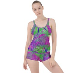 Ink Splash 03 Boyleg Tankini Set  by jumpercat