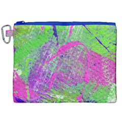 Ink Splash 03 Canvas Cosmetic Bag (xxl) by jumpercat
