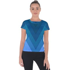 Tri 04 Short Sleeve Sports Top  by jumpercat