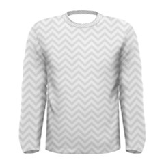 Light Chevron Men s Long Sleeve Tee by jumpercat