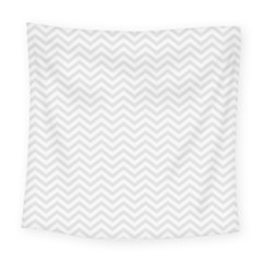 Light Chevron Square Tapestry (large) by jumpercat