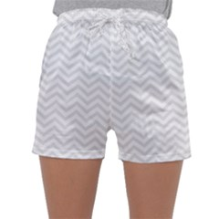 Light Chevron Sleepwear Shorts