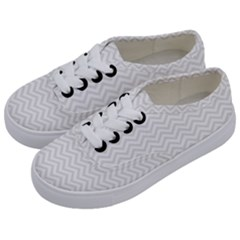 Light Chevron Kids  Classic Low Top Sneakers by jumpercat