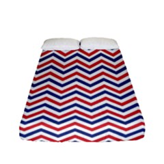 Navy Chevron Fitted Sheet (full/ Double Size) by jumpercat
