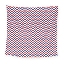 Navy Chevron Square Tapestry (large) by jumpercat