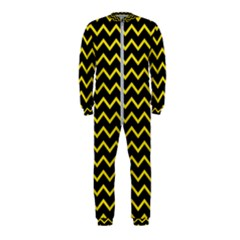 Yellow Chevron Onepiece Jumpsuit (kids) by jumpercat