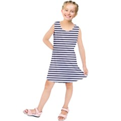 Basic Horizontal Stripes Kids  Tunic Dress