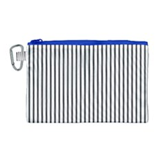 Basic Vertical Stripes Canvas Cosmetic Bag (large) by jumpercat