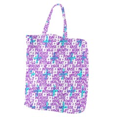 Hard Workout Giant Grocery Zipper Tote by jumpercat